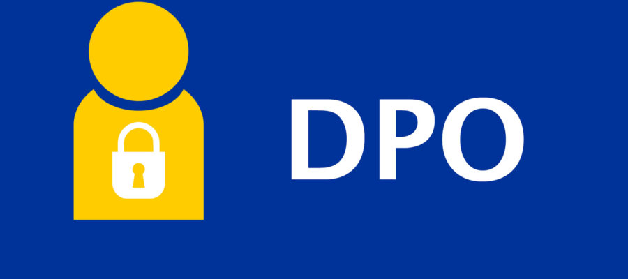 Data Protection Officer (DPO) Illustration in EU Colours